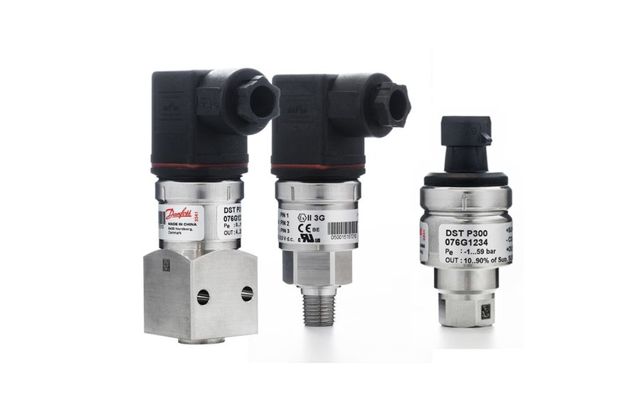 Danfoss introduces DST P3xx, a digital-ready series of pressure transmitters for harsh water, air, marine, and cooling applications