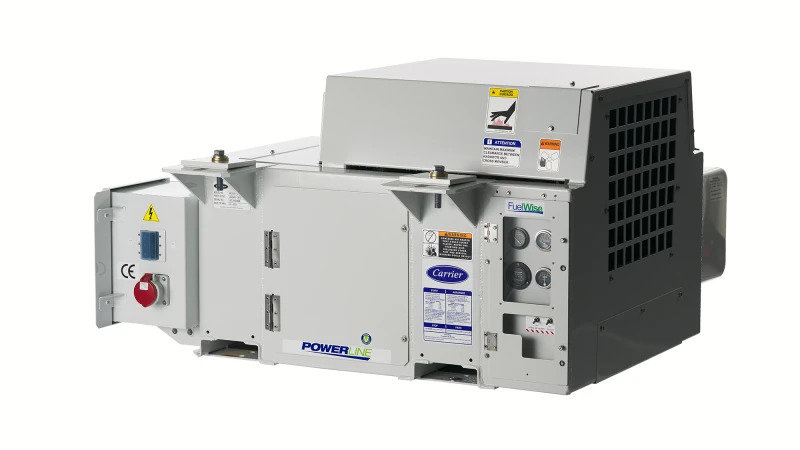 Carrier Transicold Adds High-Performance PowerLINE Generator Sets Compliant with EU Emission Standards for Enhanced Sustainability